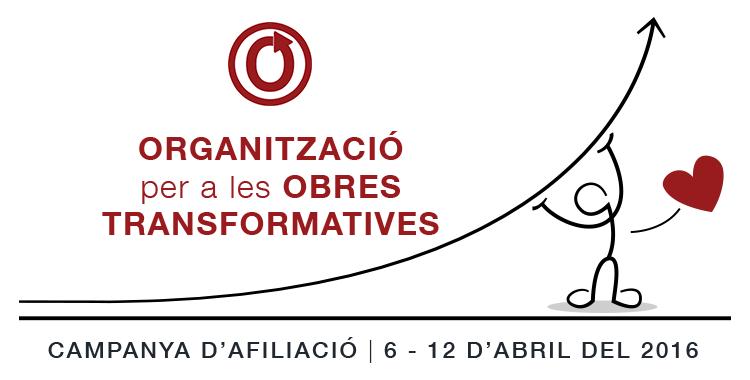 Campanya d'Afiliació de l'Organització per a les Obres Transformatives, del 6 al 12 d'abril del 2016
