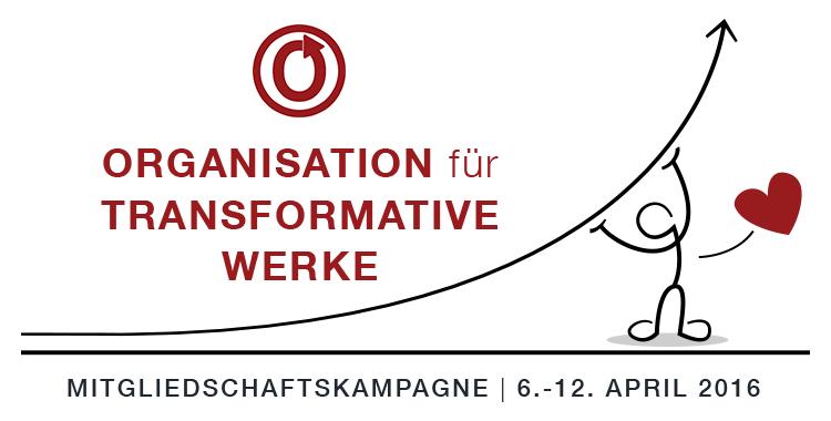 Mitgliedschaftskampagne der Organisation für Transformative Werke, 6.-12. April 2016