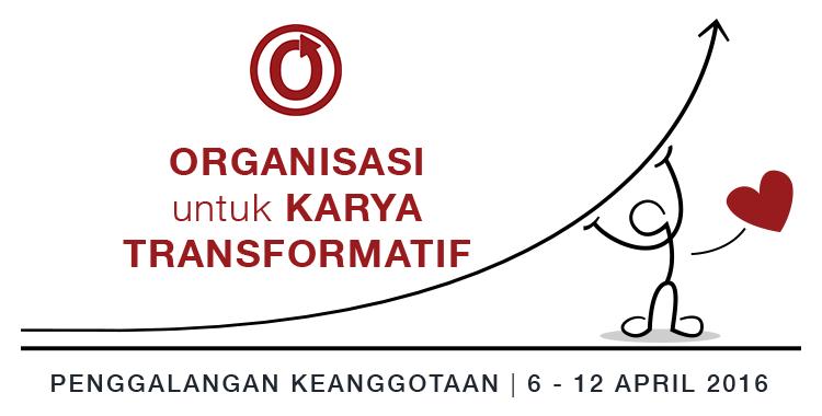 Penggalangan Keanggotaan Organisasi untuk Karya Transformatif, 6–12 April 2016