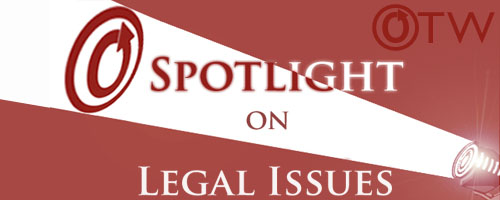 Banner: 'Spotlight on Legal Issues'