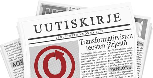 caitien tekemä banneri, jossa on kuva lehdestä, jonka sivuilla näkyvät OTW:n ja sen projektien logot.