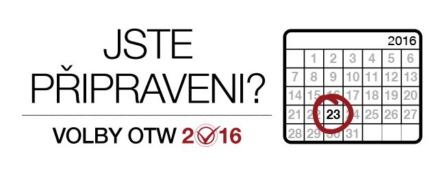 Volby OTW 2016: jste připraveni? Měsíční kalendář pro rok 2016 se zvýrazněným 23. dnem.