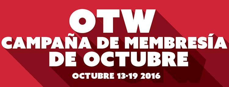 Campaña de membresía de octubre - Octubre 13-19 2016