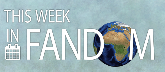 This Week in Fandom banner by doughtier with image of Earth