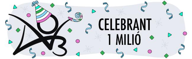 Celebrant un milió d'usuaris/es
