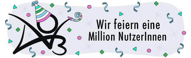Eine Million BenutzerInnen