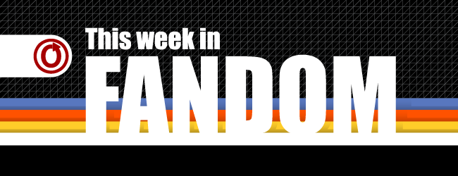 This Week in Fandom banner by Alix Ayoub