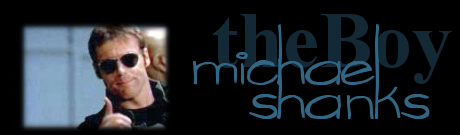 The Boy Michael Shanks Banner