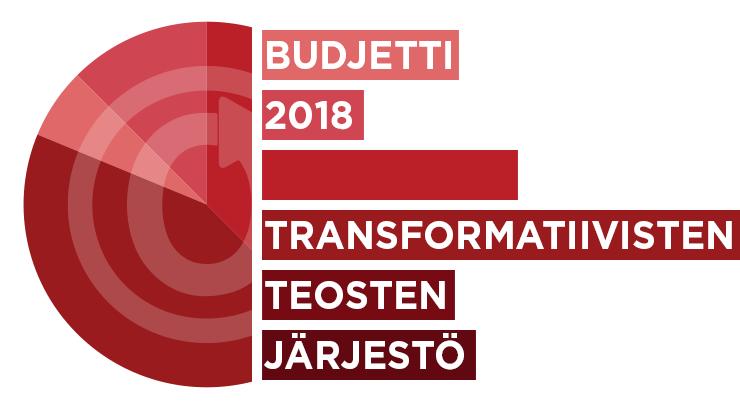 Transformatiivisten teosten järjestö: Budjetti 2018