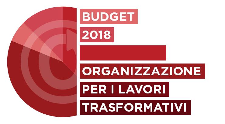 Organizzazione per i Lavori Trasformativi: budget 2018