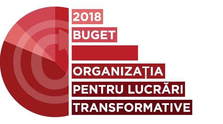 Organizația pentru Lucrări Transformative: bugetul pentru 2018