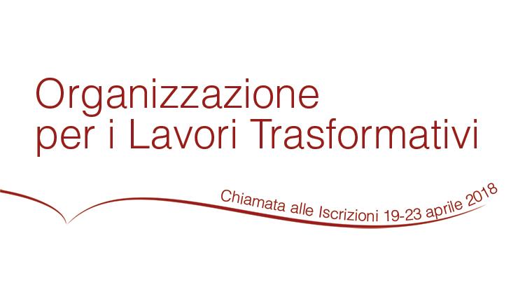 Chiamata alle iscrizioni di OTW (Organizzazione per i Lavori Trasformativi), 19-23 aprile 2018