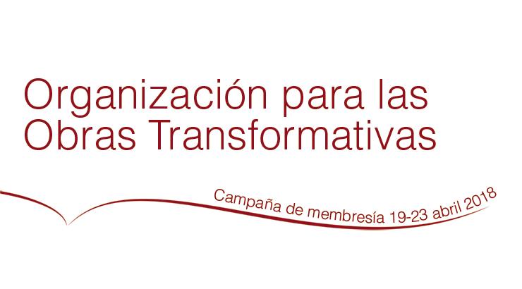 Campaña de membresía de la OTW (Organización para las Obras Transformativas) del 19 al 23 de abril de 2018