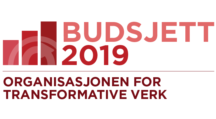 Organisasjonen for transformative verk: budsjett for 2019