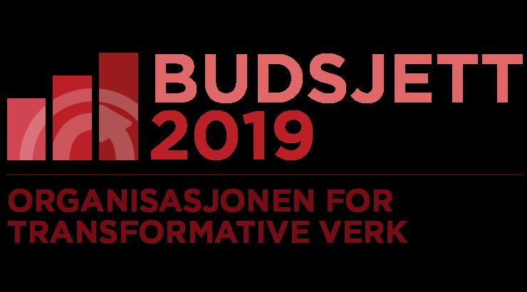 Organisasjonen for transformative verk: budsjett for 2019