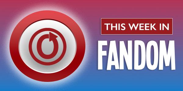 This Week in Fandom banner by Atiya Batts