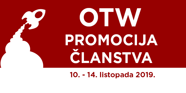 Promocija članstva Organizacije za transformativna djela, 10. - 14. listopada, 2019.