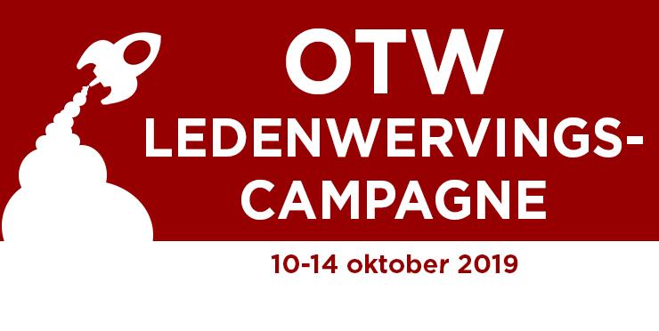 Organisatie voor Transformatieve Werken Ledenwervingscampagne 10-14 oktober 2019