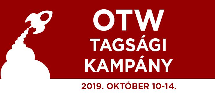 Szervezet a Transzformatív Munkákért Tagsági Kampány, 2019. október 10-14.