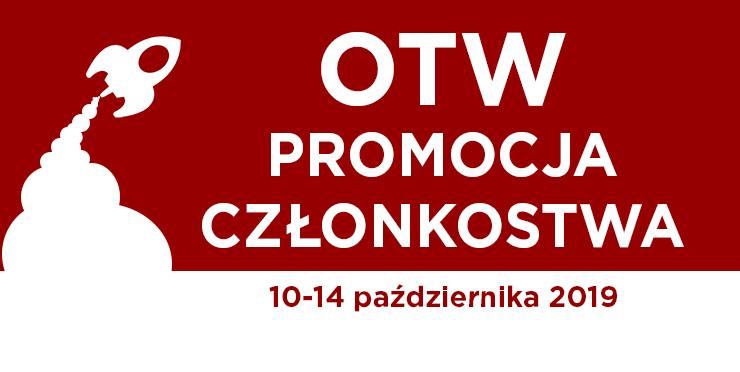 Promocja Członkostwa Organizacji na rzecz Twórczości Przobrażonej, 10–14 października 2019