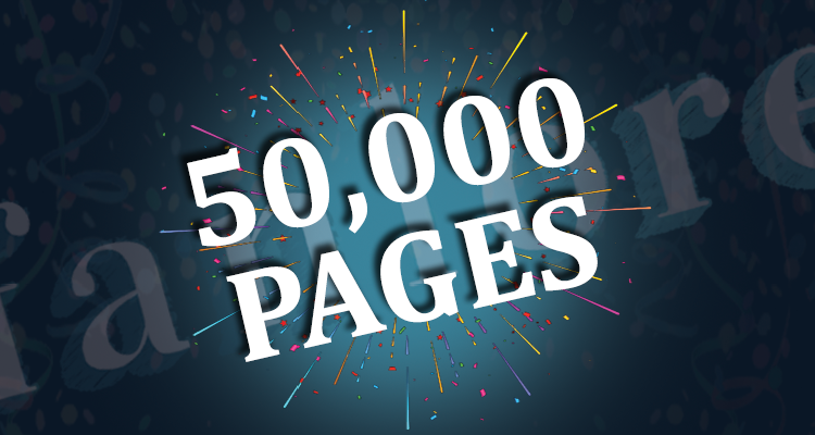 Fanlore: 50,000 Pages