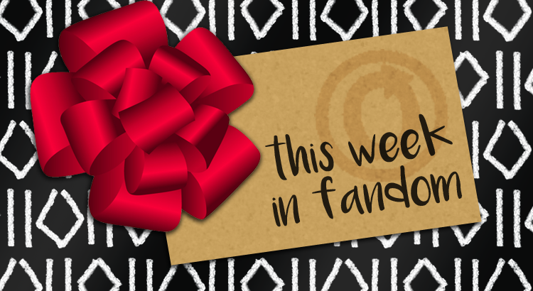 This Week in Fandom. Christmas Ribbons image by Vexels.com