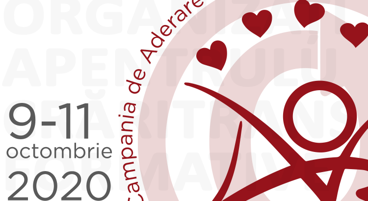 Campania de Aderare a Organizației pentru Lucrări Transformative din 9-11 octombrie 2020