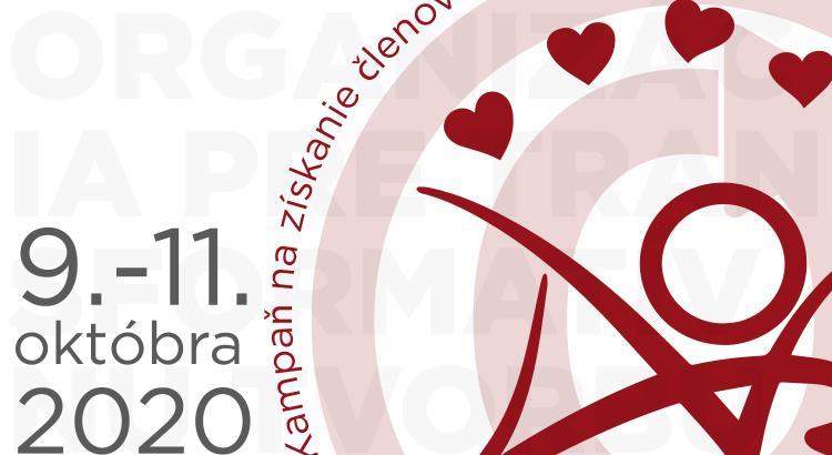 Kampaň na získanie členov Organizácie pre transformatívnu tvorbu, 9. - 11. október 2020