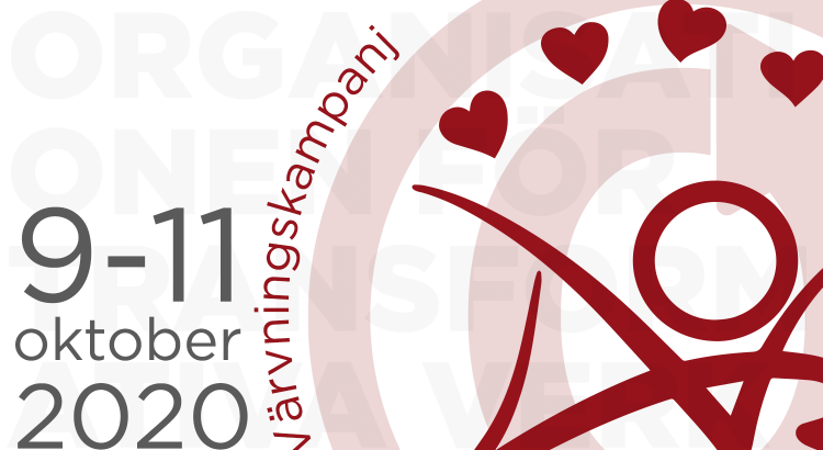 Värvningskampanj för Organisationen för Transformativa Verk, 9–11 oktober 2020