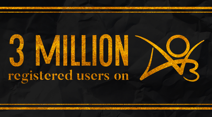 Three Million Registered Users on AO3