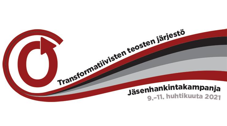 Transformatiivisten teosten järjestön jäsenhankintakampanja, 9.–11. huhtikuuta 2021