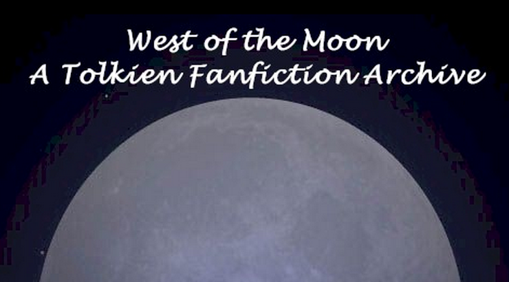 Screenshot of the Original front page of the West of the Moon Archive