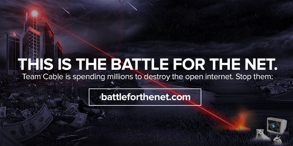 This is the battle for the net. Team Cable is spending millions to destroy the open internet. Stop them.