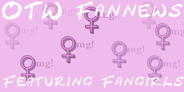Banner by Robyn of multiple female symbols reading 'OMG' on pink background and saying