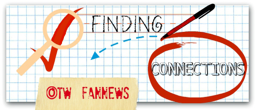 Banner by Swimmies of graph paper with a magnifying glass over a check mark next to the word 'Finding' and a pen circling the word 'Connections'